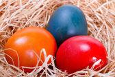 Ovos de páscoa pintados — Fotografia Stock