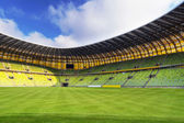 PGE Arena stadium for 43,615 spectators — Stock Photo