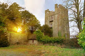 Foulksrath Castle at sunset — Stock Photo