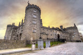 Kilkenny Castle at dusk — Stock Photo
