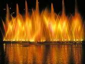 Giochi di luce dell'acqua — Foto Stock