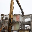 Demolition of flats — Stock Photo