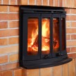 Fireplace — Stock Photo #8133850