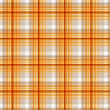 Royalty-Free Stock Photo: Pattern picnic orange