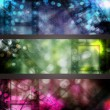 Stock Photo: Abstract cinema banner set
