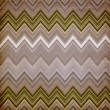 Stock Photo: Shabby textile background bright and colorful made of zig zag st