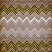 Shabby textile background bright and colorful made of zig zag st — Stock Photo