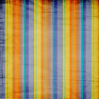 Shabby textile background bright and colorful  stripes - Stock Photo