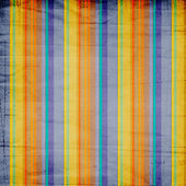 Shabby textile background bright and colorful stripes — Stock Photo
