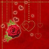 Happy valentine's day background — Stock Photo