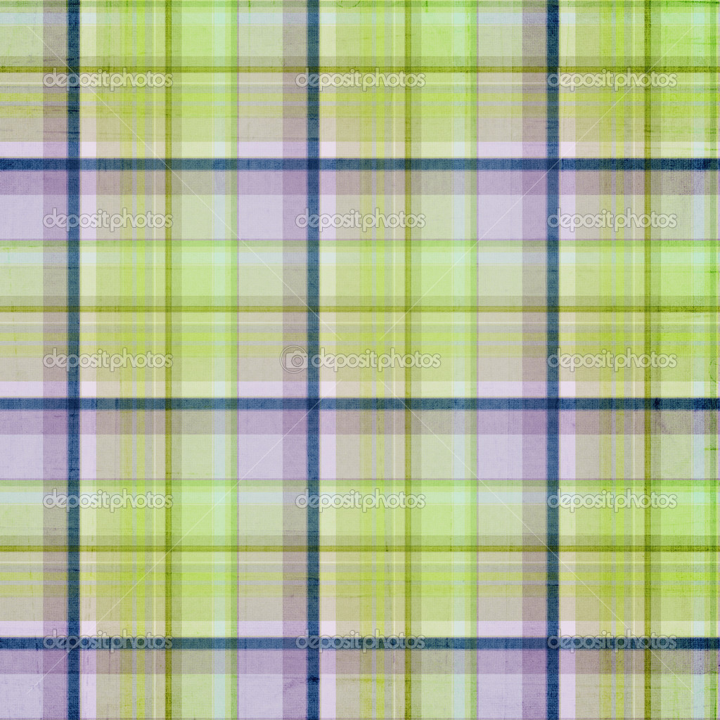 Plaid Background Green Plaid Striped Background With