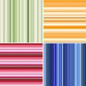 Retro stripe pattern with blue, orange, green colors — Stock Photo