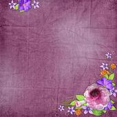 Background with flowers — ストック写真
