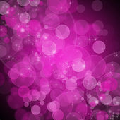 Background of unfocused pink lights with sparkles — Stock Photo