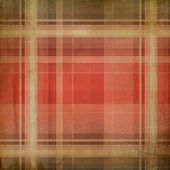 Shabby plaid background — Stock Photo