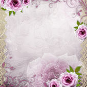 White beautiful wedding background — Stock Photo