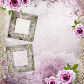 Beautiful wedding background — Stock Photo