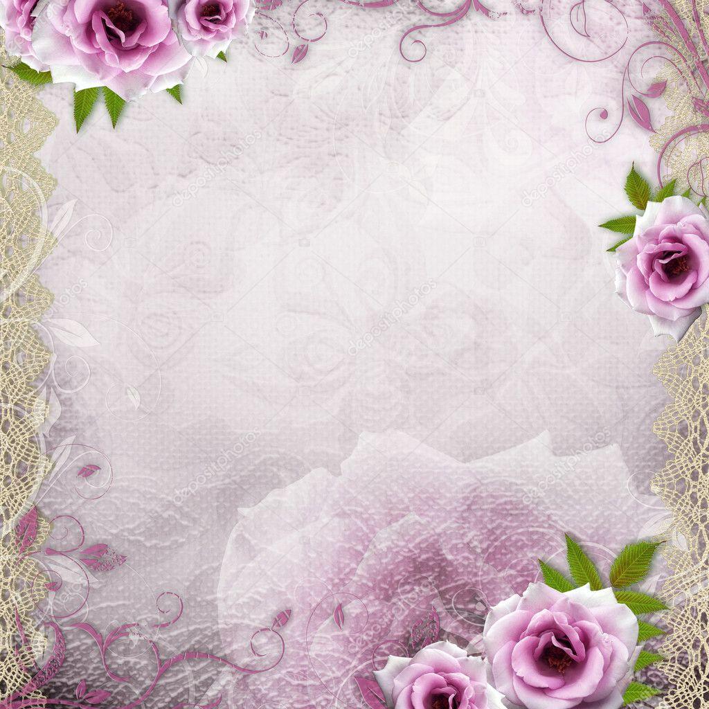 White Beautiful Wedding Background Stock Photo O April
