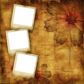 Vintage photo frames — Stock Photo