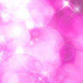 Pink background with bokeh effect — Stock Photo