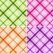Plaid seamless texture set - 图库照片