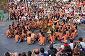Balinese Kecak dance, Bali, Indonesia — Stock Photo