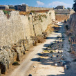 Ruins of Grand Master's Palace - Rhodes Island — Stock Photo