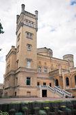Neogotycki zamek — Zdjęcie stockowe