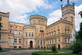 нео готический замок / jablonowo поморского — Стоковое фото