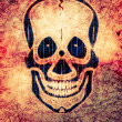 Radioactive skull — Stock Photo #8653345