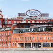 "Stock Photo: Historical building of confectionery factory ""Red October"", Moscow, Russia"