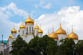 Churches of the Moscow Kremlin in Moscow, Russia — Stock Photo