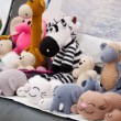 Royalty-Free Stock Photo: Knitted soft toys, handmade