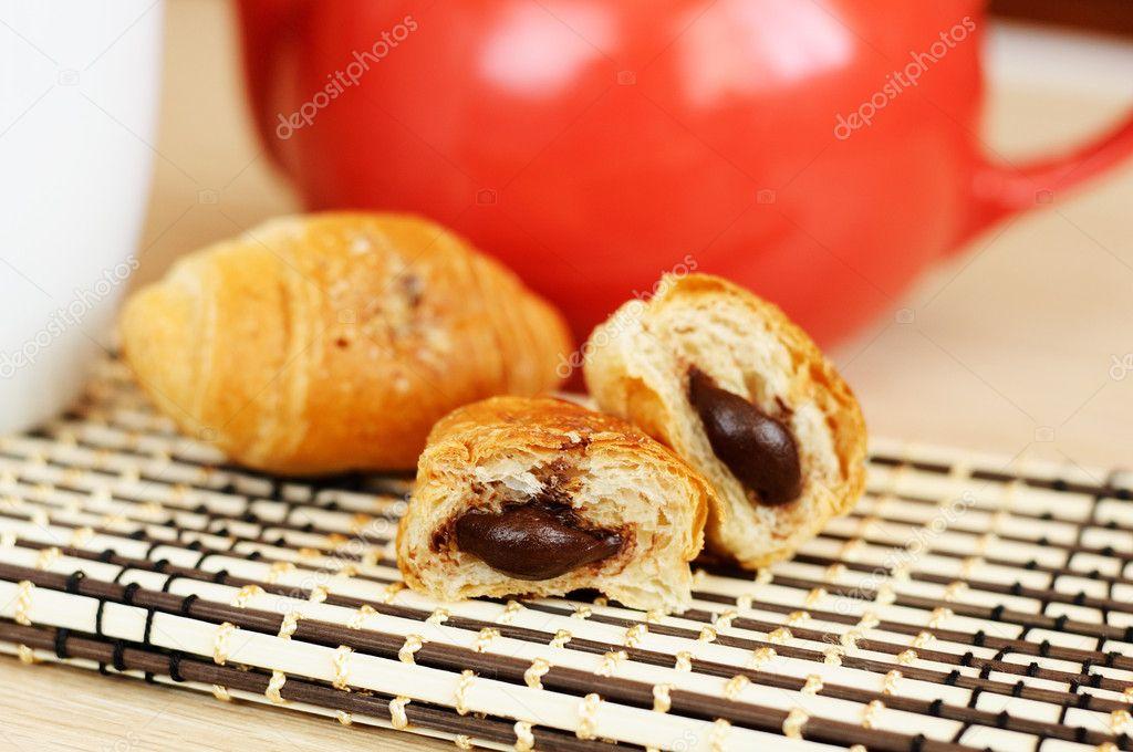 Круассаны шоколад рецепт в домашних условиях