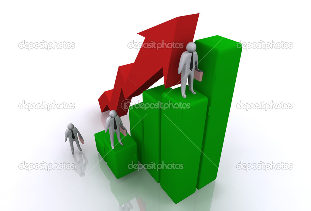Graph concept — Stock Photo #10466775