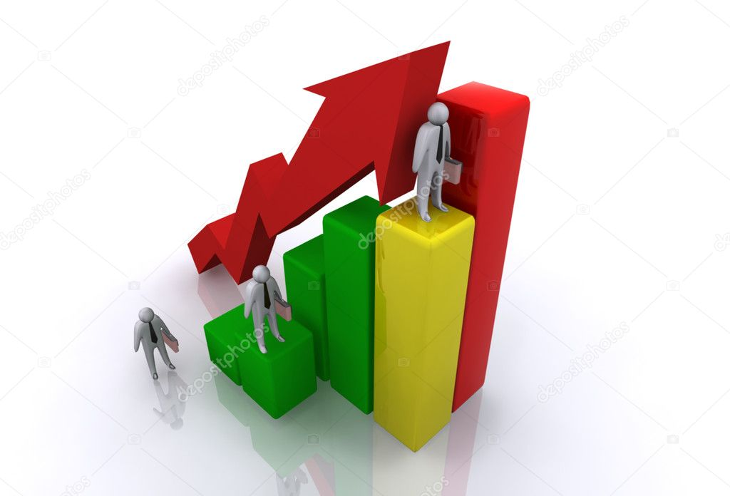 Graph concept — Stock Photo #10466777