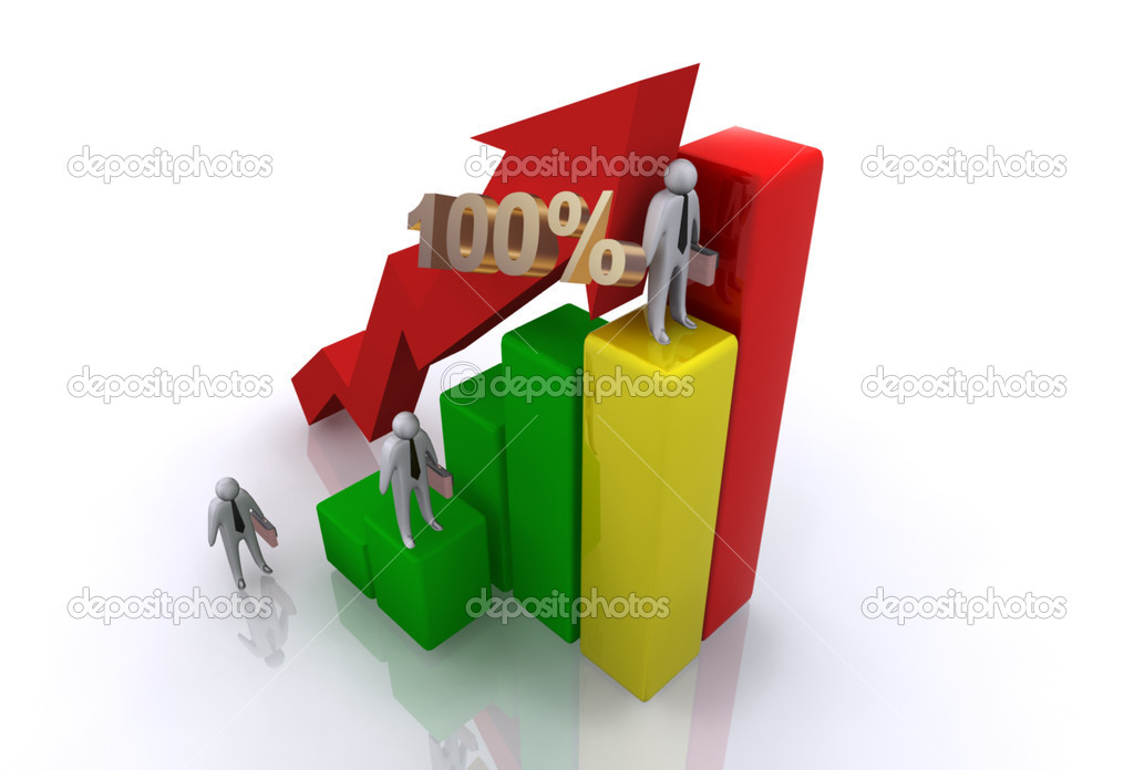 Graph concept — Stock Photo #10466779