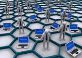 интернет бизнес-концепция — Стоковое фото