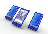Smartphone business concept — Stock Photo