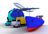 Transport concept — Stock Photo