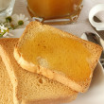 Healthy summer breakfast — Stock Photo