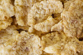 Background of goldish corn flakes — Стоковое фото