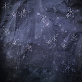 Grunge snowflakes . — Stockfoto