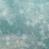 Flocos de neve grunge . — Fotografia Stock