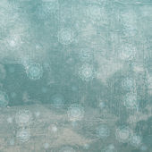 Grunge snöflingor . — Stockfoto