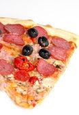 Very tasty pizza — Stock Photo