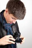 Teen boy — Stock fotografie