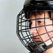 Hockey player — Stock Photo #9743442