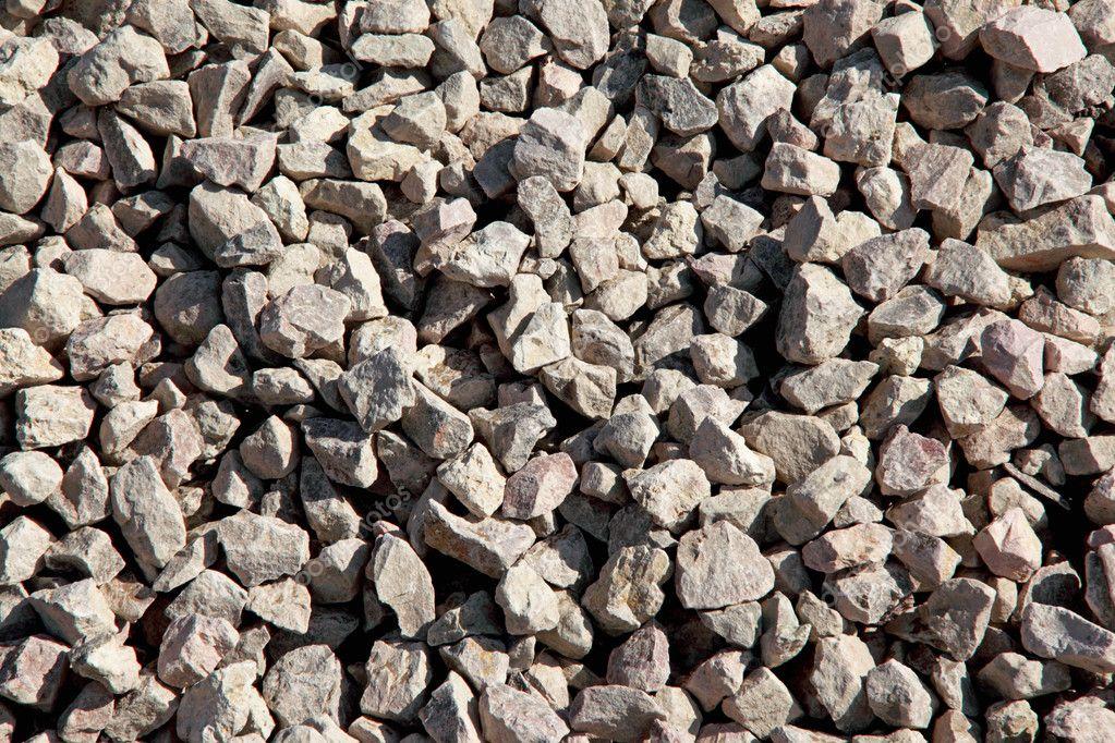 Crushed Stone Sizes Standard : A crushed stone — stock photo servantes