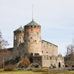 Medieval Olavinlinna castle in Savonlinna, Finland — Stock Photo #10576704
